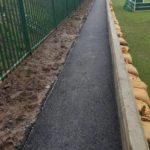 finished footpath