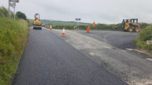 laying tarmac